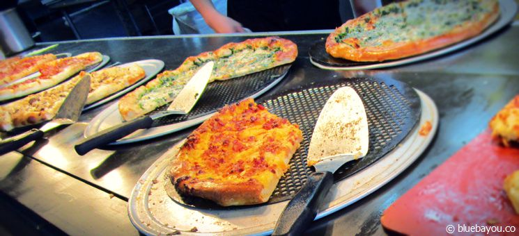 Cici's Pizza: Pizza-Buffet für wenige Dollar in den USA.