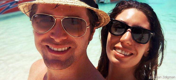 Dean Z mit seiner Frau Stephanie im Urlaub in Thailand.