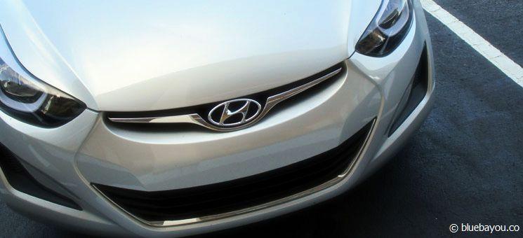 Der Hyundai Elantra, der mich hoffentlich sicher durch rund sieben US-Staaten bringen wird.