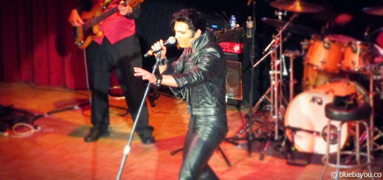 Cody Slaughter beim Georgia Elvis Festival.