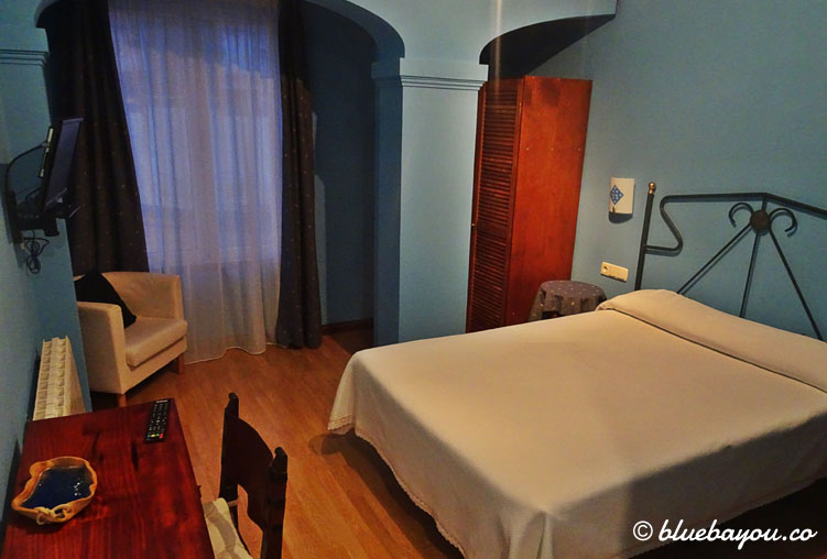 Mein Hotelzimmer in Luanco an Tag 5 meines Jakobsweges.