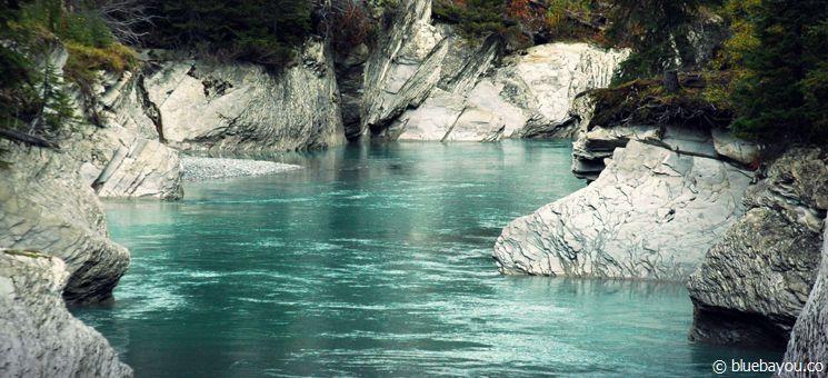 Fantastische Kontraste im Kootenay Nationalpark in Kanada.