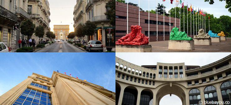 Erste Impressionen vom Städtetrip nach Montpellier, Frankreich.
