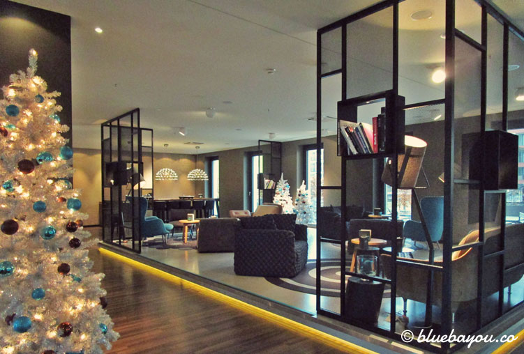 Die One Lounge des Motel One Berlin-Potsdamer Platz.