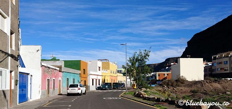 In dieser nicht-touristischen Straße in El Pagador befindet sich die kleine Pizzeria C'Masita II auf Gran Canaria.