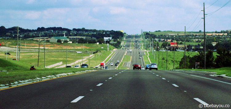 Mein geliebter US Highway 27 in Florida - auf dem Weg zu Aldi.