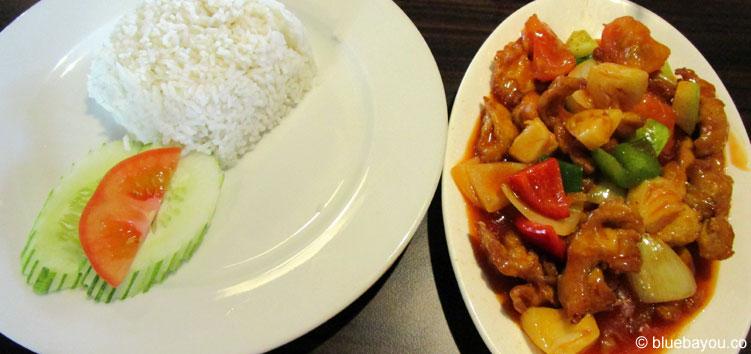Gutes und günstiges Essen bietet das Restaurant des Bird Parks in Kuala Lumpur.