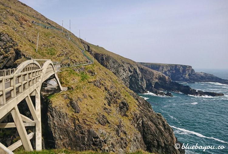Mizen Head: nur hier zahlte ich Eintrittsgeld entlang des Wild Atlantic Way in Irland.