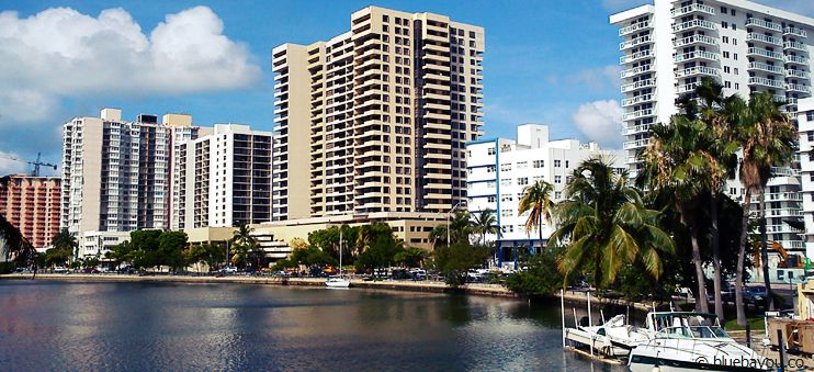 Die Bay in North Miami Beach.