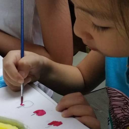 兒童水彩畫班
