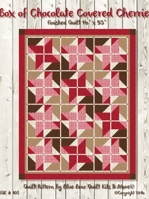 Box of Chocolate Covered Cherries Quilt Pattern