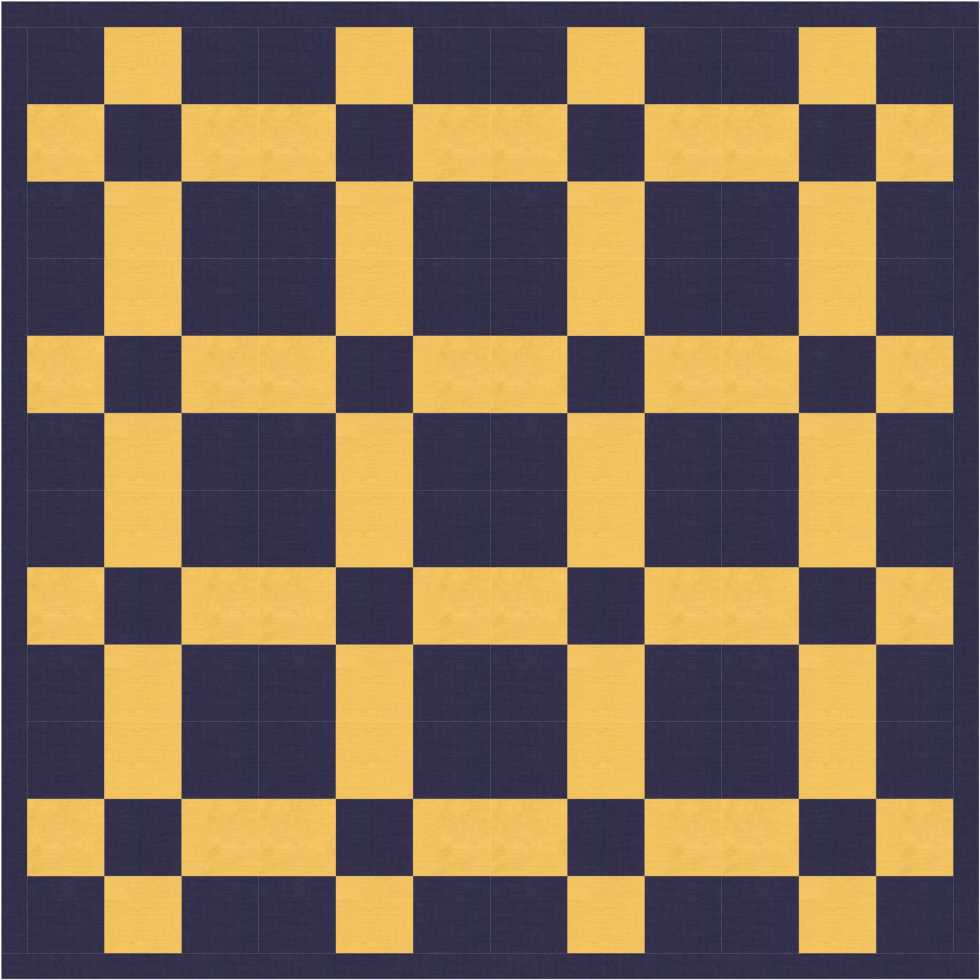 basic nine patch quilt