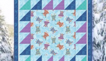 Dancing Bears Quilt Kit- Easy pattern for beginners- Great for ... : beginning quilting kits - Adamdwight.com