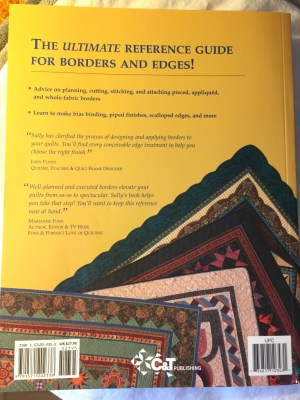 Borders and Bindings Book- back cover