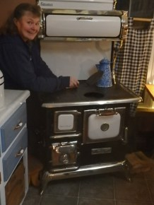 Sweet Heart stove now at Blue Belldon Farm