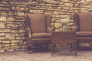 move antique furniture, like chair and table