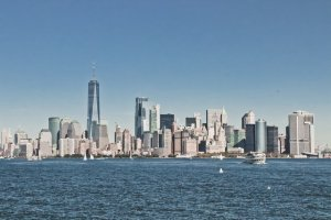 The Waterfront is the best among the neighborhoods for families in Jersey City