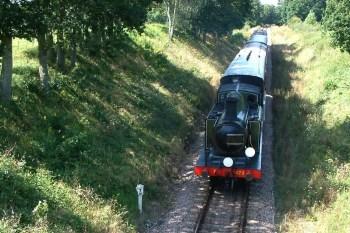 """London Brighton & South Coast Railway Class E4 0-6-2T 473, """"Birch Grove"""" steaming south st Town Place Bridge"""