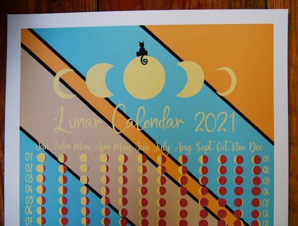 lunar calendar detail