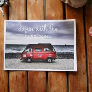 vw t3 vanlife postcard by joshua parksteinhoff blueberry beach