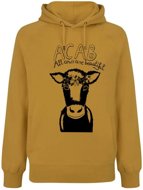 Acab yellow hoodie