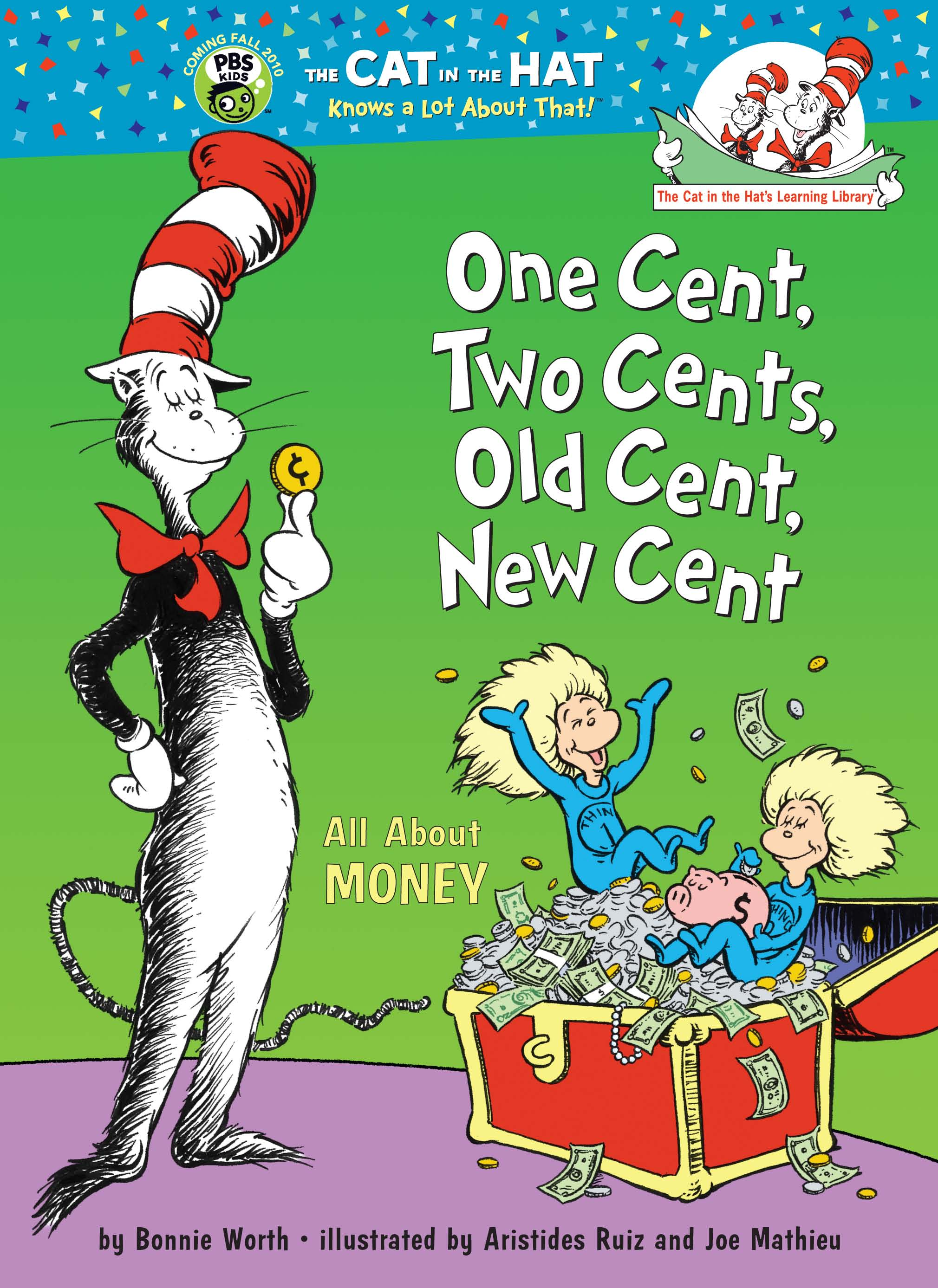 Custom Imprinted T Book Dr Seuss One Cent Two Cents
