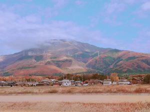 紅葉が美しい伊吹山