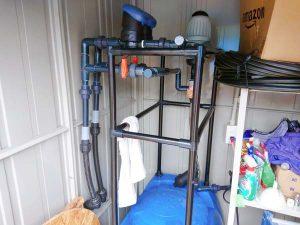 液肥の灌水装置