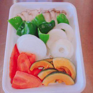 提供する野菜