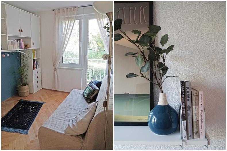 Guest room collage