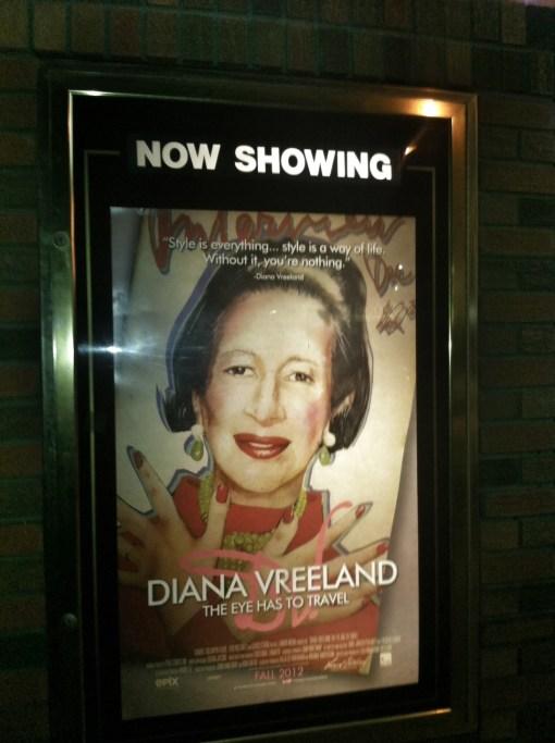 Diana Vreeland Blue Besos Tiffany Burns