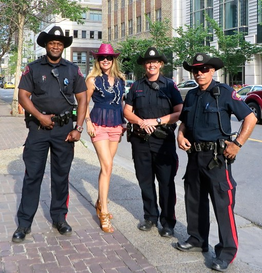 Calgary Stampede police