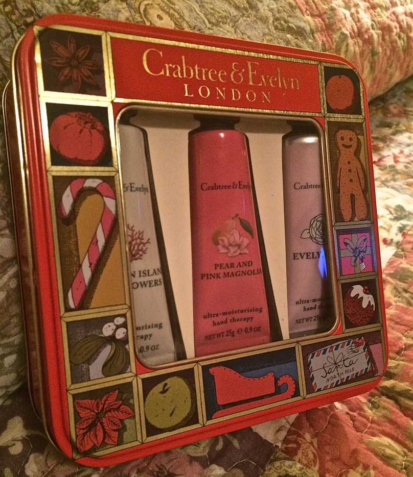Crabtree & Evelyn holiday gift pack