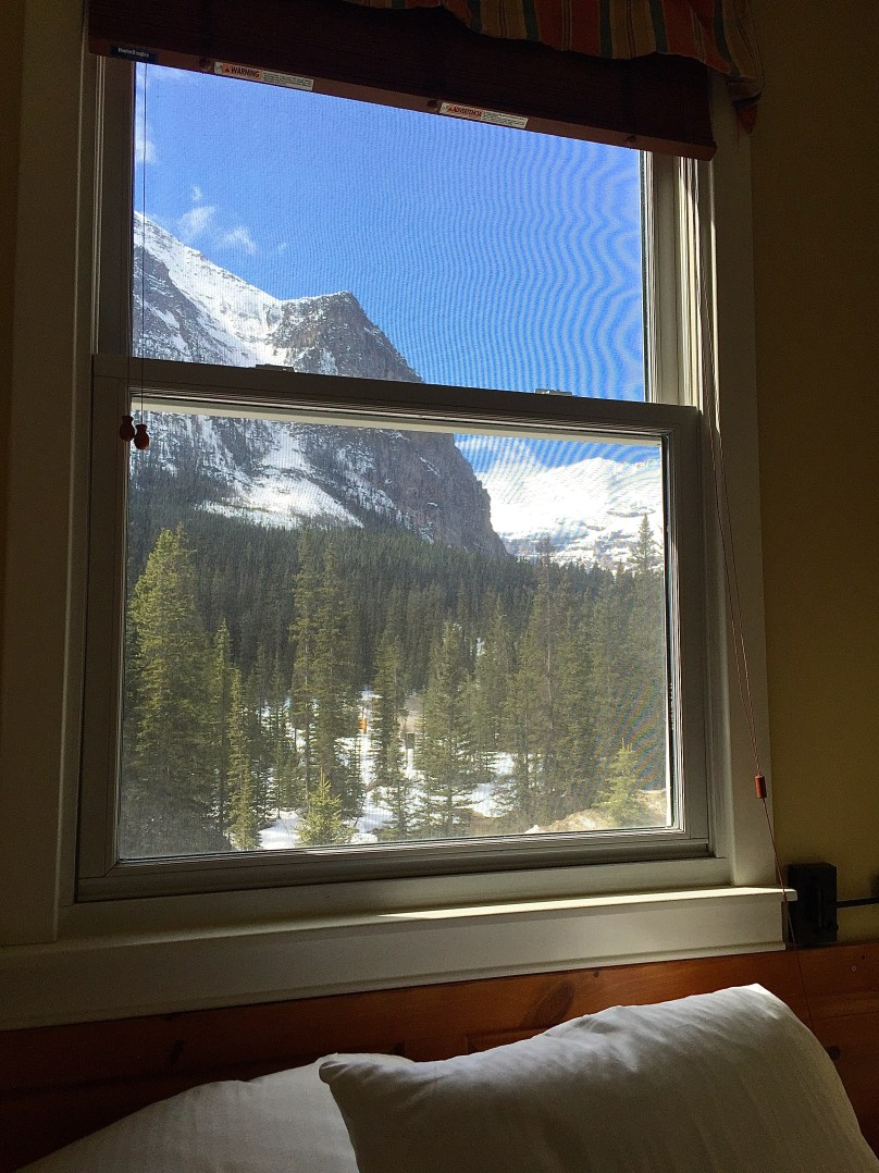 View from Room 300 at Deer Lodge