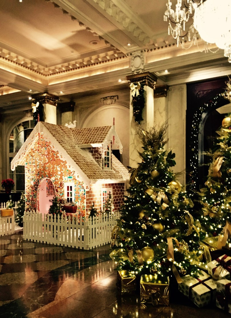 Gingerbread House at the Palliser