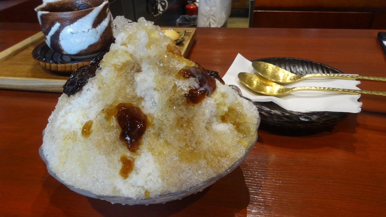 前田珈琲かき氷
