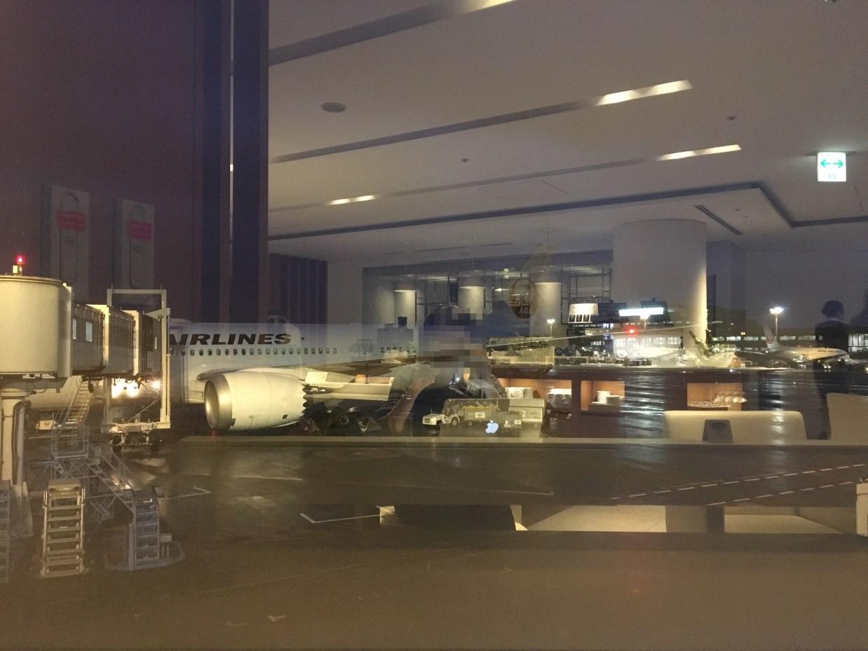 成田空港JALサクララウンジサテライト
