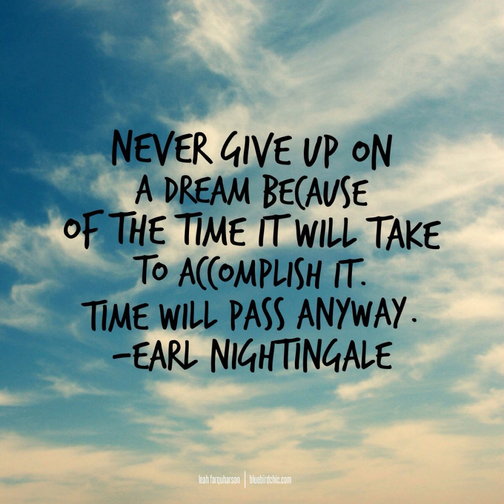 quote inspiration never give up
