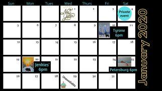 Calendar Jan