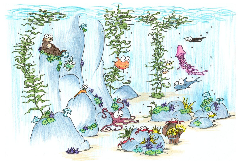 Screen Backgrounds Undersea Kelp Forest