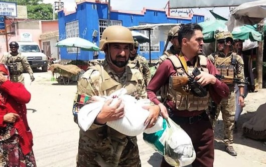 GUN MEN ATTACK AFGHANISTAN HOSPITAL
