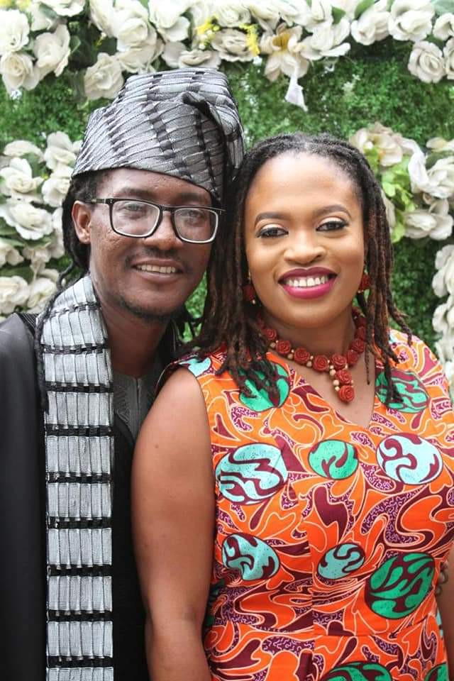 Rapper Jesse Jagz TIES THE KNOT.