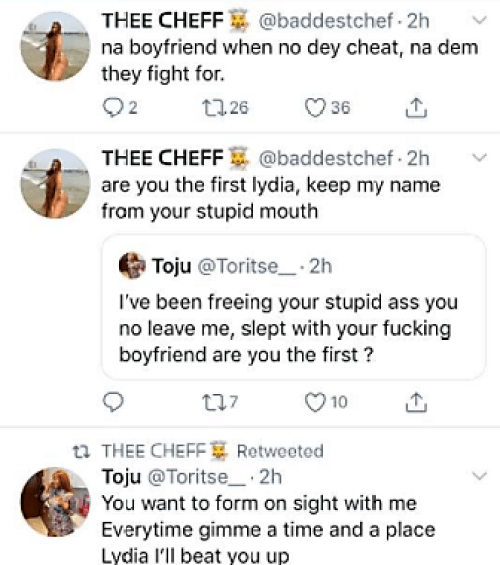 Drama : Girlfriend Of Actor Timini Egbuson GETS DRAGGED BY HIS Side chick & Her Friends.