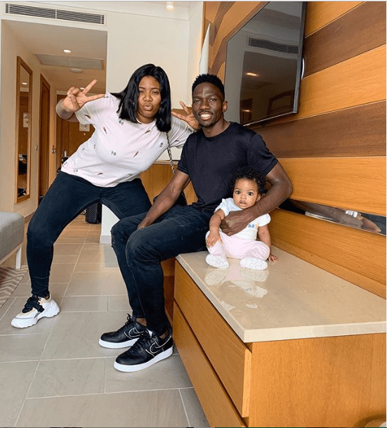KENNETH OMERUO & WIFE WELCOME 2nd DAUGHTER.