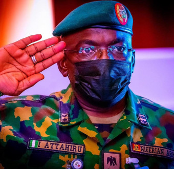Late Chief of Army Staff,Major General Ibrahim Attahiru