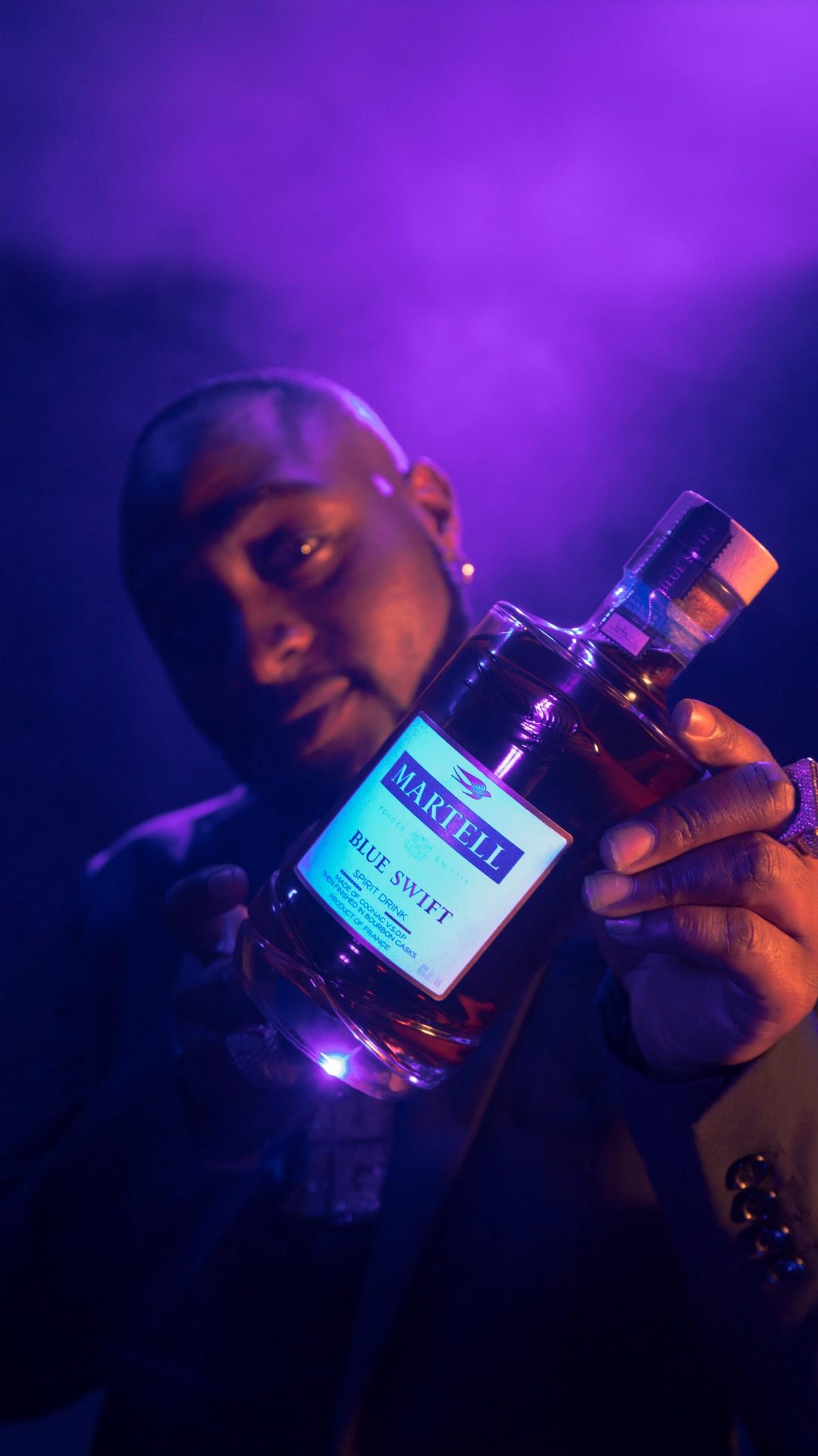 """Davido Becomes International Ambassador For Cognac House """"Maison Martell """""""