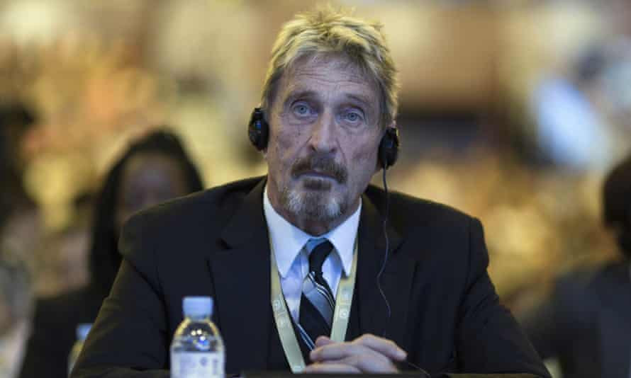 ohn McAfee : Founder Of Antivirus Company McAfee Found Dead In Spanish Prison.
