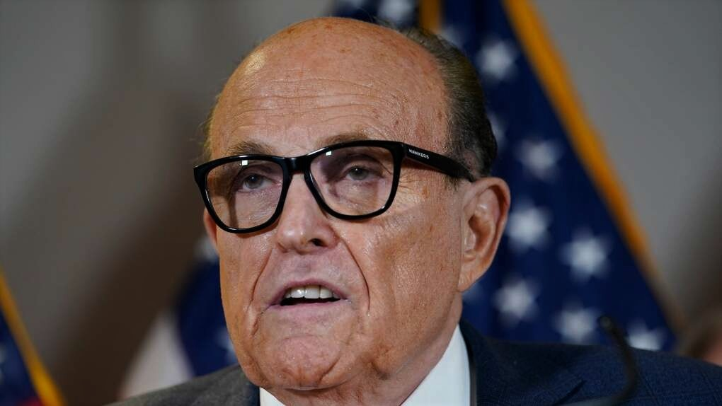 Rudy Guiliani : Lawyer to former president of the united states of America Donald Trump Can No Longer Practice Law In New York - says New York Appellate.