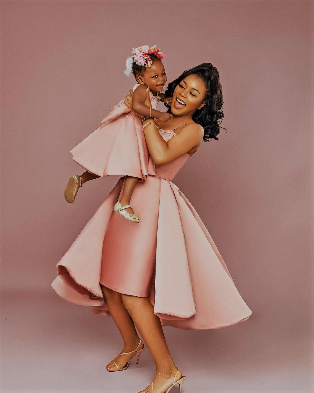 "Lola Oj Celebrates Her Daughter "" Asiya'' As She Clocks 2."
