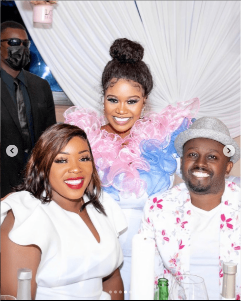 Vera Sidika: See Photos From Her All -White Gender Reveal Party.